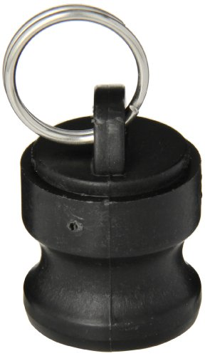 Banjo 100125PL Polypropylene Cam & Groove Fitting, Dust Plug, 1 Male Adapter