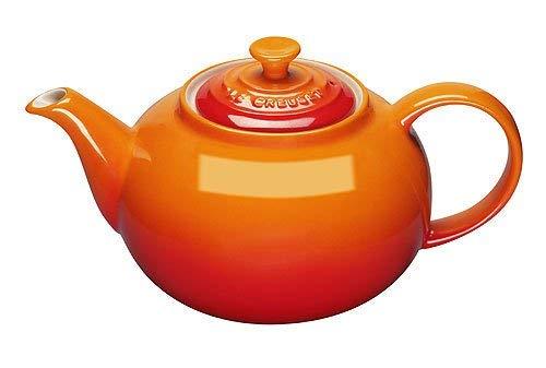 le creuset orange teapot - 2