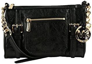 Michael Kors Medium McGraw Messenger Bag BLACK