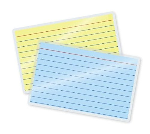 Hot File (Qty 200 File Card Laminating Pouches 3-1/2 x 5-1/2 Hot 5 Mil Laminator Sleeves)