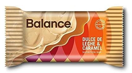 Balance Dulce De Leche & Caramel, 22 gram mini bars, 10 count by BALANCE