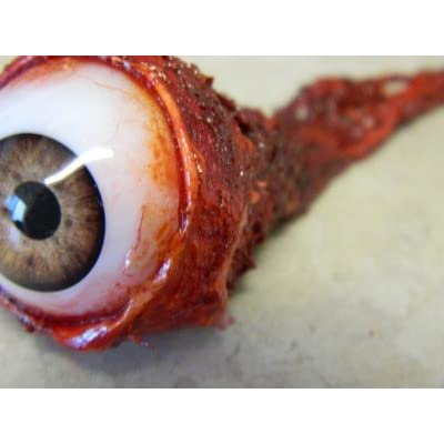 Dead Head Props Ripped Out Eyeball - Light Brown: Toys & Games