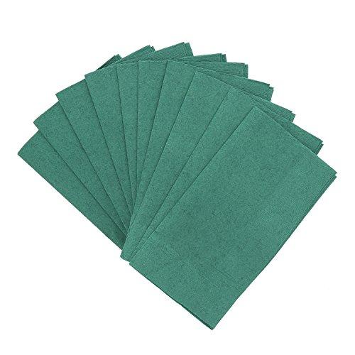 Royal Dark Green Dinner Napkins, Pack of 125 ()