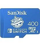 SanDisk - 400GB microSDXC UHS-I for Nintendo Switch