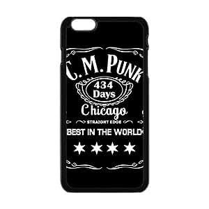 LJF phone case C M PUNK Phone Case for Iphone 6 Plus