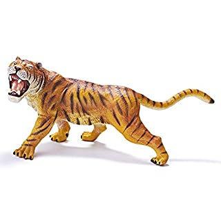 RECUR Toys 10.2inch Bengal Tiger Action Figure Toys, Soft Hand-Painted Skin Texture Figurines Toys for Kids - 1:15 Scale Realistic Design Wild Life Tiger Replica, Ideal for Collectors, Ages 3 and Up