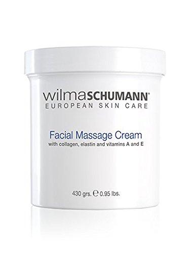 - WILMA SCHUMANN Facial Massage Cream, 430 grams / 0.95 lbs 475