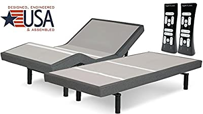 DynastyMattress SPLIT KING SCAPe 2.0 PERFORMANCE MODEL ADJUSTABLE BED BY LEGGETT & PLATTALL NEW FEATURES