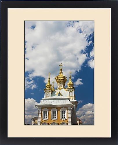 Framed Print of Russia, Saint Petersburg, Peterhof, Grand Palace, chapel wing by Fine Art Storehouse