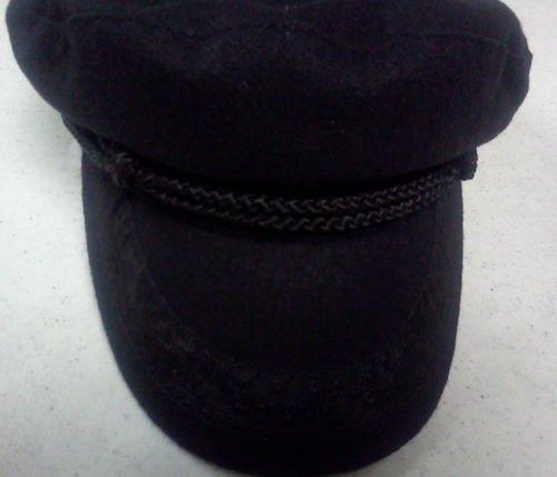 Broner Greek Fisherman Wool Black Size Large