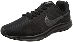 Nike Womens Wmns Downshifter 7 Black Mtlc Hematite Anthracite Size 9