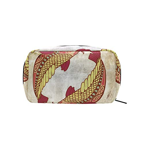 - Constellation Zodiac Sign Pisces Makeup Case Cosmetic Bag