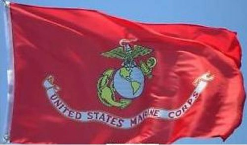 3X5'' Us Usmc American Marine Corps Double Sided Flag Solid