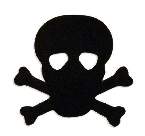 Skull & Crossbones Pirate Tanning Stickers 1000 Roll