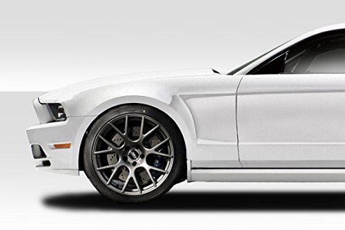 Fenders Duraflex Concept Gt (Duraflex ED-OXI-801 GT Concept Fenders - 2 Piece Body Kit - Fits Ford Mustang 2010-2014)