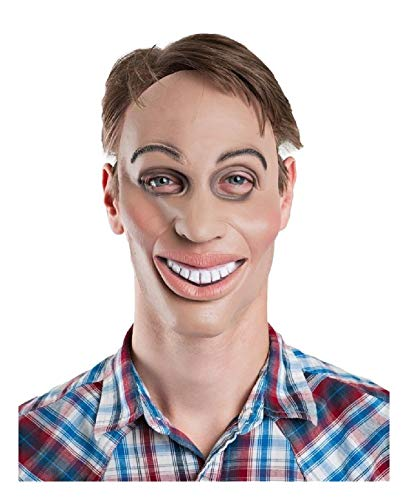 Ovedcray Costume series Eradicate & Smile Male Latex Mask The Purge Halloween Horror -