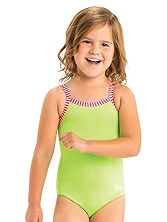 Dolfin Little Solid 1-Piece | AMZLD9504 (2T, Lime)