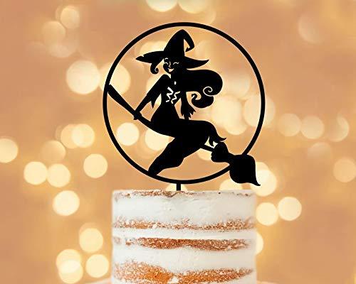 Halloween cake topper, unique cake topper, halloween zombie, halloween signs, funny cake topper, halloween ideas, halloween party idea, -