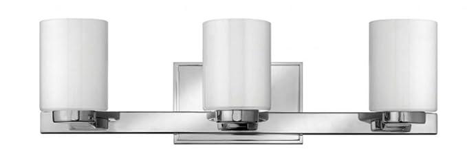Amazon.com: Vanity - Lámpara de baño con 3 focos (metal con ...