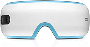 Breo iSee 3S Electric Eye Massager with Heating,Vibration, Music and Air Pressure for Eye Fatigue Dry Eyes Stress Relief, Foldable Temple Massager for Gift(Basic Version)