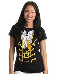 Pirate Buccanneer | Jumbo Print Novelty Halloween Costume Ladies' T-shirt