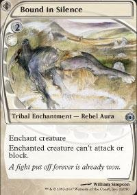 Magic: the Gathering - Bound in Silence - Future Sight - Foil