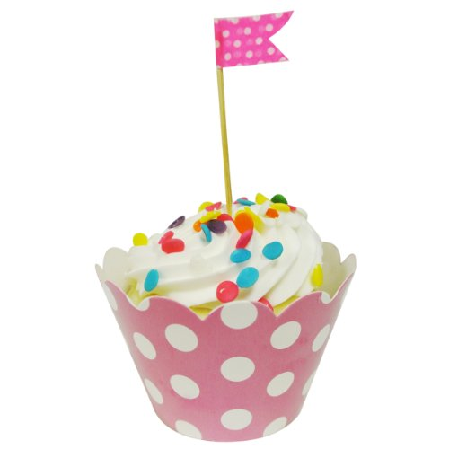 AllyDrew Standard Polka Cupcake Wrappers product image