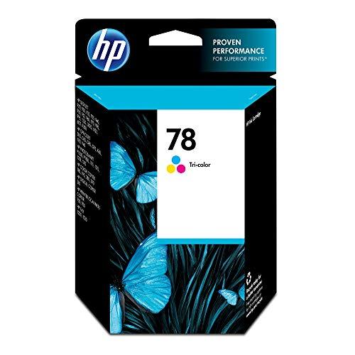 HP 78 Tri-color Ink Cartridge (C6578DN) for HP Deskjet 3820 920 9300 930 932 940 955 960 980 HP Officejet g55 g85 k80 v40 HP PSC 750 ()