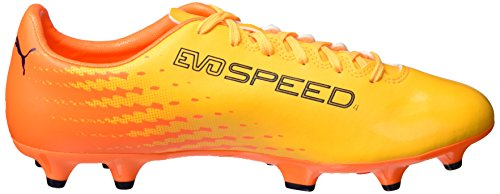 Puma Evospeed 17.4 Fg, Botas de Fútbol para Hombre Amarillo (Ultra Yellow-peacoat-orange Clown Fish 04)