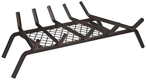 Rocky Mountain Goods Fireplace Grate with Ember Retainer - 1/2
