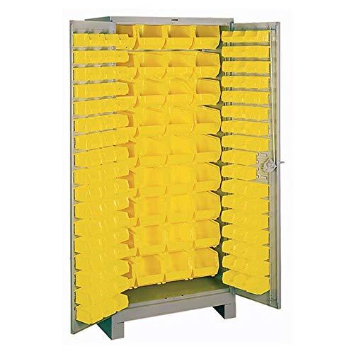 Lyon DD1124 All Welded Bin Steel Storage Cabinet, 36