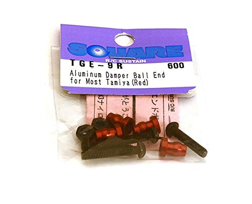 (Aluminum damper end ball (Tamiya generic) Red)