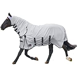Shires Sweet-Itch Combo Fly Sheet (White, 84)