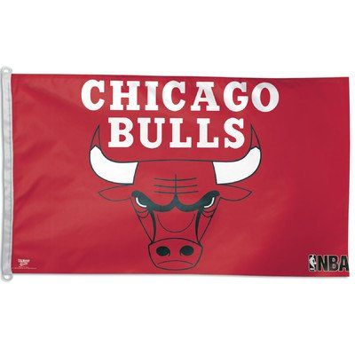 NBA Chicago Bulls WCR01956011 Team Flag, 3' x 5'