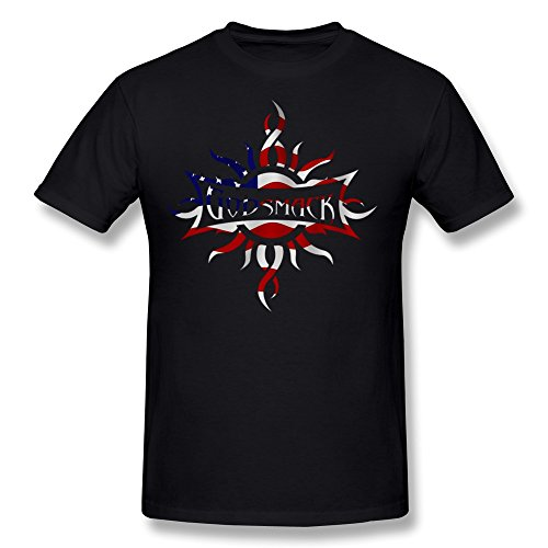 Sianda Men 39 S Godsmack Band Us Flag Logo T Shirts Size Xxl