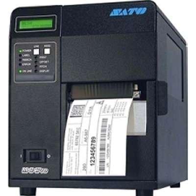 (SATO WM8430181 M84PRO (3) With Cutter 4.4 inch Printer 305DPI Wireless 802.11G Print Server)