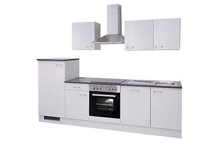 Smart Möbel Toska - Bloque de Cocina (280 cm, con Fregadero ...