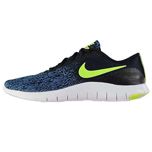 Nike Flex Contact Mens Running Shoes - Black/volt-photo blue-white 3fJZMH