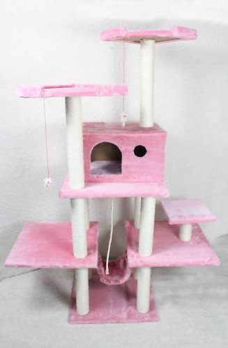 Exceptional BestPet Cat Tree Condo Furniture Scratch Post Pet House, 70 Inch