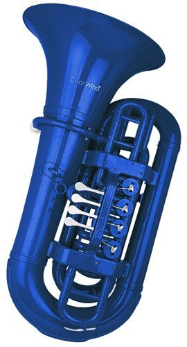 Cool Wind CTU-200 Series 4-Valve BBb Tuba Blue