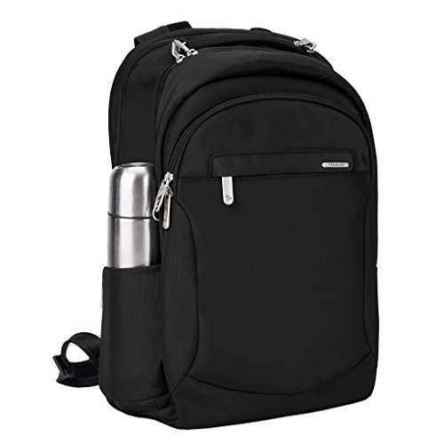 41DU2X3SucL - Travelon Anti-Theft Classic Large Backpack, Black