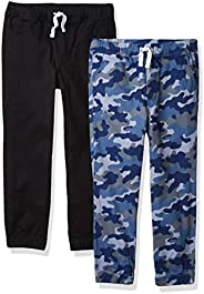 Amazon Essentials Boys Pull-On Woven Jogger Pants