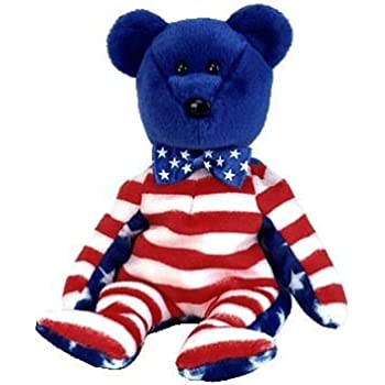 4d2c1d14b74 Ty Beanie Babies Liberty - Bear Blue (USA Exclusive)