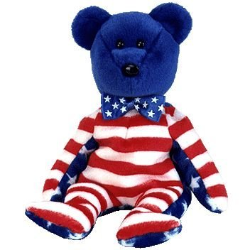Ty Beanie Babies Liberty - Bear Blue (USA Exclusive) (Beanie Baby Usa)