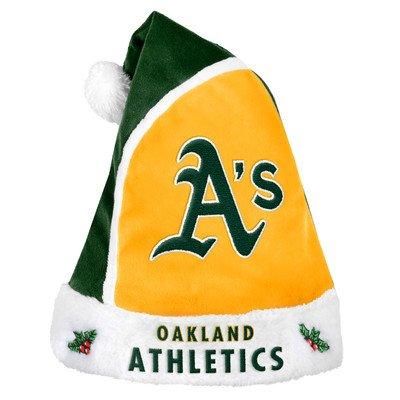 Oakland Athletics 2015 Basic Santa Hat - Oakland Athletics Santa