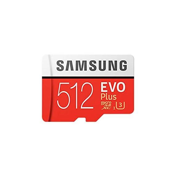 Samsung evo plus class 10 micro sdxc with adapter, 512gb (mb-mc512ga) 1 mb-mc512ga_eu