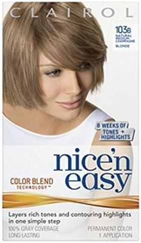 Clairol Nice N Easy - Tinte para el cabello 104 natural ...