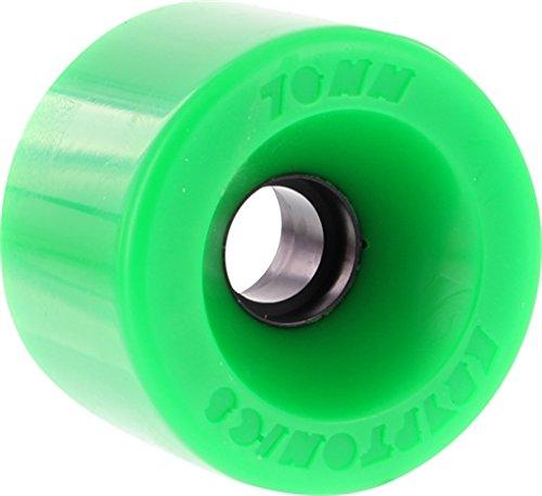 Kryptonics Wheels Star Trac Green Skateboard Wheels - 70mm 86a (Set of 4)