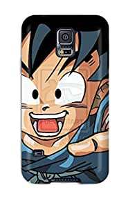 New Cute Funny Kid Goku Case Cover/ Galaxy S5 Case Cover