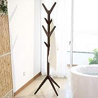 Amazon.com: Garwarm - Perchero de madera para abrigos, con 8 ...